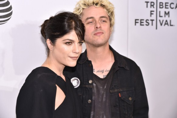 Selma Blair Billie Joe Armstong Red Carpet Tribeca Film Festival 2016 2