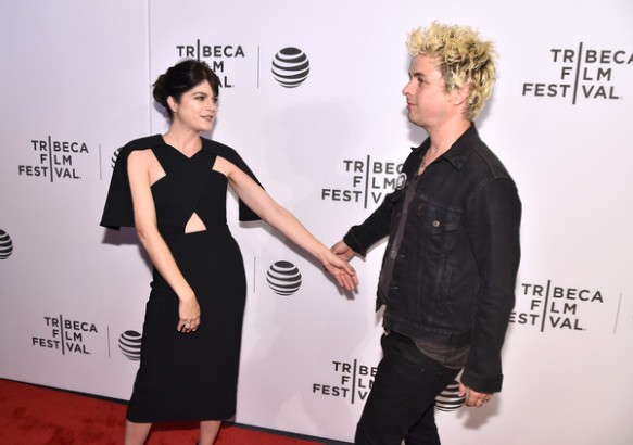 Selma Blair Billie Joe Armstong Red Carpet Tribeca Film Festival 2016 3