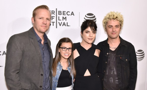 Selma Blair Billie Joe Armstong Red Carpet Tribeca Film Festival 2016 6