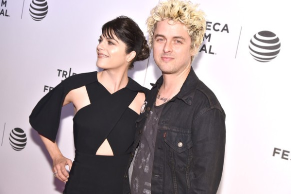 Selma Blair Billie Joe Armstong Red Carpet Tribeca Film Festival 2016