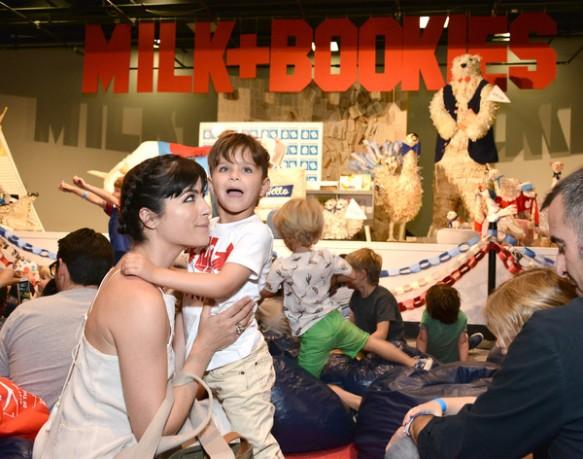 Selma Blair Milk and Bookies 1