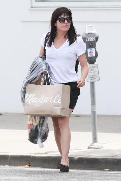 Selma Blair Shopping in Beverly Hills 2
