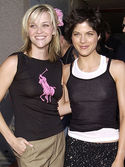 Selma Blair Reese Witherspoon Legally Blonde Premiere