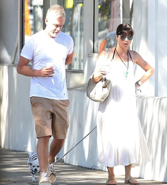 Selma Blair's Beach Day With Son Arthur 3